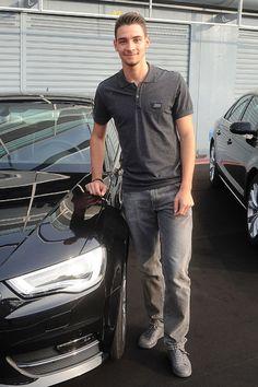 Italy footballer Mattia De Sciglio, all monochrome