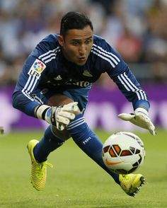 Real Madrid's goalkeeper Keylor Navas during the UEFA ...