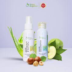 Penumbuh rambut rontok   botak herbal tanpa efek samping green angelica  combo 2 100% halal bpom 421aadf65a