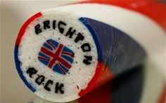 Rock.  Mandatory at the British seaside.  The way it's made is fascinating!