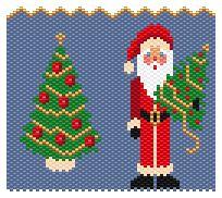Santa by Charley Hughes AKA BeadyBoop