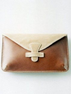 Simple leather #bag #purse