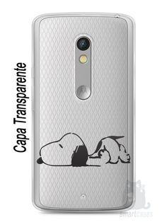 Capa Capinha Moto X Play Snoopy #29 - SmartCases - Acessórios para celulares e tablets :)