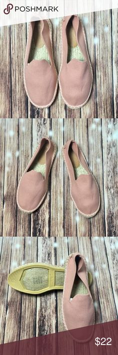 👡 ASOS Rosè Pink Flat Espadrilles - Brand New! Brand new, size says they're US 9, but they fit like an 8...adorable espadrilles. Dusty Rose colored, great addition to any wardrobe. Asos Shoes Flats & Loafers