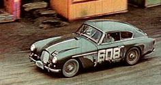 1956 Alpine Rally: the Aston Martin DB2 of De Salis