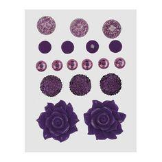 Z1895 -- Base & Bling Purple Jewels -- $5.95. 2 – 22mm resin flowers 3 – 12mm acrylic flowers 6 – 6mm sparkles 4 – 7mm enamel gems 3 – 10mm glitter gems SHOP: www.keeleyskreations.ctmh.com