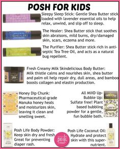 Perfectly Posh. Naturally based pampering products. Kids can use Posh too. Https://BobbieChristian.po.sh/