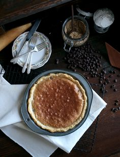 Chocolate Chip Cookie Pie | This pie is one of my all time favorite pie recipes. @themerrythought