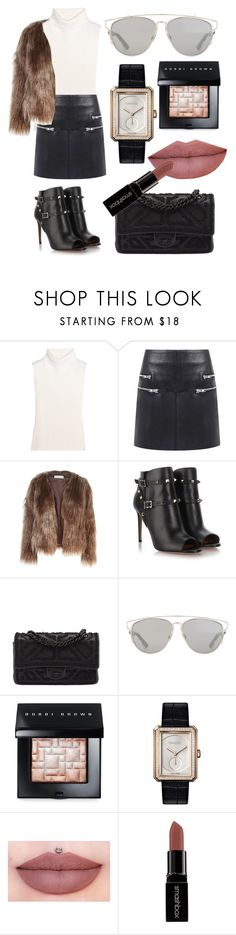 """""""Untitled #73"""" by sophiamarie28 on Polyvore featuring 1205, Walter Baker, Related, Valentino, Chanel, Christian Dior, Bobbi Brown Cosmetics, Smashbox, women's clothing and women's fashion"""