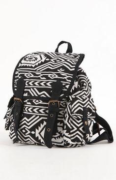 Kirra  Tribal Print Backpack  $39.50