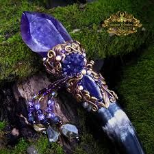recreations of crystal wands used in atlantean times - Google Search