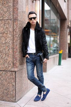 Tod's Gommino - Han Huohuo Stylist and fashion icon …