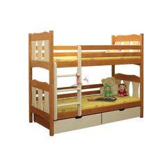 łóżko piętrowe WOJTEK 5materace - internetowy sklep z materacami