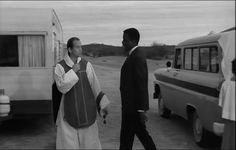 Homer Smith and Father Murphy (Lilies of the Field, 1963)
