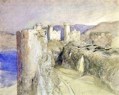"""""""Conway Castle, 1836 """"  Palmer, Samuel"""
