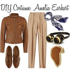 Diy Last Minute Diy Amelia Earhart Costume - Diy Costume Amelia Earhart Work Appropriate Halloween Costumes Fashion Forward Fridays Easy Diy Halloween Costumes Diy 10 Diy Girl Power Halloween Cos. Work Appropriate Halloween Costumes, Sibling Halloween Costumes, Last Minute Halloween Costumes, Easy Costumes, Costumes For Women, Halloween 2017, Baby Halloween, Costume Ideas, Amelia Earhart Costume