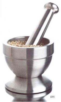 mortar and pestle -