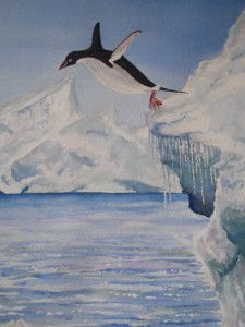 'Penguin Paradise' by Graham Ibson