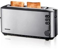 Get the acclaimed Severin AT 9729 Automatic Langschlitztoaster here at Toaster. Here to purchase at a great price for a short time only - don't pass it by! Get Severin AT 9729 Automatic Langschlitztoaster securely online today. Electronic Kitchen Scales, Kitchen Electronics, Stainless Steel Toaster, Brushed Stainless Steel, Tostadas, Grill Accessories, Small Kitchen Appliances, Küchen Design, Elevator
