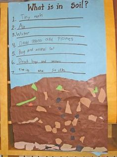 pinterest first grade science | First Grade Science-Rocks & Soil / science notebooks