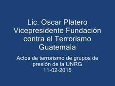 La Voz de la FCT Guatemala. Programa Nro. 15. Lic. Oscar Platero Trabani...