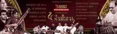 """Sangeet Sadhana's """"Gharana 2014″ was a brilliant show of Indian Classical music. Performed on May 1st 2014 at Phoenix Market City, the concert featured Pt. Ravindra Yavagal and Shri Prabir Bhattacharya and an Orchestra + Vocal ensemble. for more info visit http://www.sangeetsadhana.org/event-main/gharana/"""