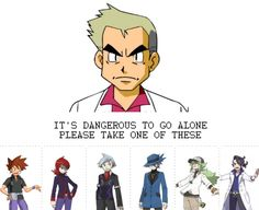 With pleasure ;) the Pokemon games have created some attractive trainers