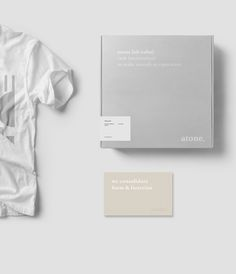 nothingtochance: Atone Visual Identity / Laura... at live minimalistic