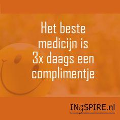 Waardeer jij deze spreuk ook, deel deze dan met je vrienden, familie en kennissen! Bedankt voor het delen van jouw spreuk Syl. | www.ingspire.nl