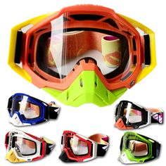 gt  consumer reviews100% Brand Motorcycle glasses Motocross Goggles  Oculos Motorcycle Gafas Racing af89f288db