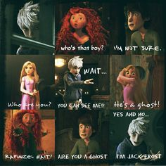 Hiccup: Are you a ghost? Speak, apparition!