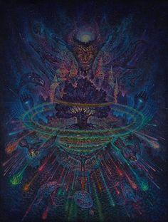 Visionary artwork of Luis Tamani. Tame Impala, Zentangle, Psy Art, Graffiti, Visionary Art, Psychedelic Art, Sacred Geometry, Plexus Products, Trippy