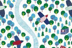 IN THE FOREST - Steffie Brocoli_collection de tissus