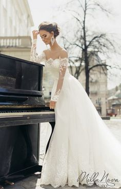 Milla Nova 2016 Bridal Wedding Dresses / www.deerpearlflow… Milla Nova 2016 Bridal Wedding Dresses / www. 2016 Wedding Dresses, Bridal Dresses, Wedding Gowns, Bridal Gown, Dresses Dresses, Fall Dresses, Casual Dresses, Wedding Sash, Chic Wedding