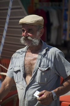 The 'real' Greeks are so classically beautiful and natural. Archaeologous.com can assist with your 3 Greek island tour  (photo-Fisherman in Hydra island)