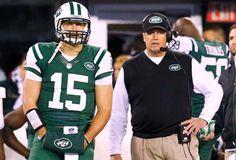 """Despite rib injury to NY Jets backup quarterback Tim Tebow, third-string quarterback Greg McElroy is inactive"" NY Daily News (November 23, 2012)"