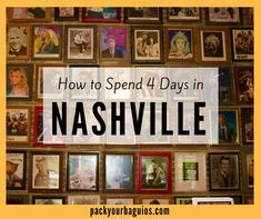 How to Spend 4 Days in Nashville, Tennessee This year, it was time to finally visit Nashville as a tourist. My daughter and I decided to plan a mother-daughter trip to visit the Music City. If you How to Spend 4 Days in Nashville, Tennessee Nashville Tours, Nashville Attractions, Nashville Vacation, Music City Nashville, Visit Nashville, Vacation Trips, Vacation Ideas, Mini Vacation, Vacation Travel