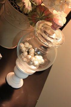 "Apothecary Jar--A True ""Trash to Treasure"""