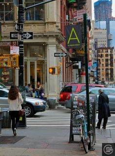 NYC. Soho.  Broome St. Ken's Broome St. Bar and Grill. Bleu Cheese burgers. Suzel. Memories:)