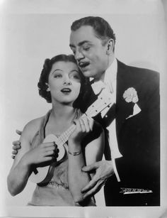 """Myrna Loy and William Powell for """"After the Thin Man"""", 1936"""