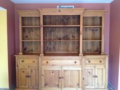 Shabby Chic hutch for dinning room.