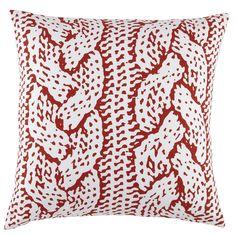 Kids Pillows: Bear Print Throw Pillow | The Land of Nod