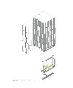 Edifício de Habitação Social na Plaza Europa / Roldán + Berengué