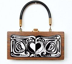 Vintage Enid Collins of Texas LOVE Box Bag by niwotARTgallery on Etsy, $375.00