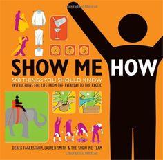 SHOW ME HOW!という本とウェブサイトが、とても面白いです。 今日、本からではなくウェブサイトからその […]