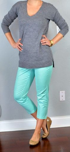 Ootd Casual Friday Work Outfit Boyfriend Jeans Khaki