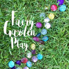 Fairy Garden Play - create this simple invitation for fairies and their friends to come and play at your house! Easy to set up, easy to change and then change again! Craft Activities, Activity Ideas, Outdoor Activities, Craft Ideas, Fairy Garden Furniture, Rainbow Magic, Dramatic Play, Imaginative Play, Happy Kids