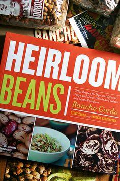 Rancho Gordo beans - great book!