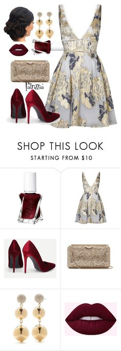 """""""Patrizzia31.12.2017a"""" by patrizzia on Polyvore featuring Essie, Notte by Marchesa, Jimmy Choo, Kate Spade and patrizziapolyvore"""