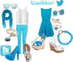 Social Media inspired outfits. I am such a nerd for finding this interesting!